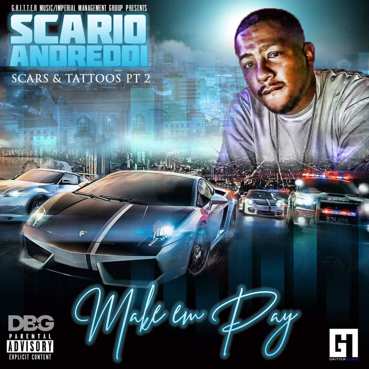 Scario Andreddi – Scars & Tattoos Part 2 (Make Em Pay)